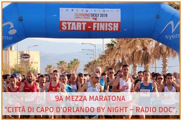 """9a Mezza Maratona """"Città di Capo D'Orlando by night – Radio"""